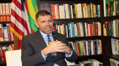 السفير الآمريكي: موريتانيا دولة آمنة ومستقرة (مقابلة)