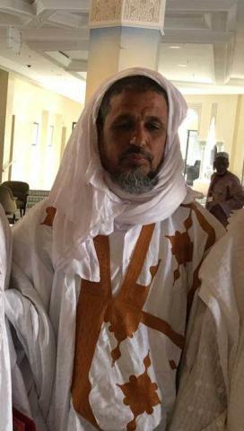 الشيخ محمد سعيد بن بدي أستاذ بمحظرة النباغية و جامعة شنقيط العصرية