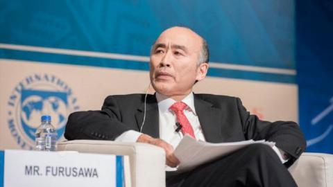 السيد ميتسوهيرو فوروساوا، نائب المديرة العامة لصندوق النقد الدولي