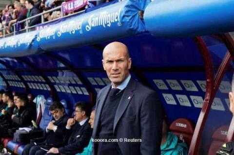 زين الدين زيدان - مدرب ريال مدريد