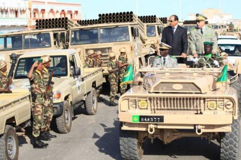 الجيش الموريتاني ينفي موضوع زيادة سن التقاعد