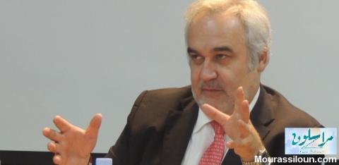لوان مسيلاتي / مدير العمليات بالبنك الدولي - موريتانيا أثناء حديثه اليوم