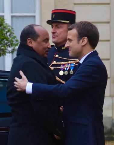 سبق لماكرون أن زار الدول المجاورة لموريتانيا المغرب و السينغال و مالي التي التقى بالرئيس عزيز بها