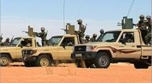 قوة من الجيش الموريتاني / صورة تخدم الخبر
