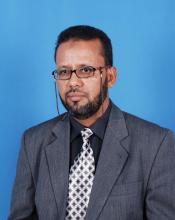 محمد إسحاق الكنتي ـ الأمين العام المساعد للحكومة ـ أستاذ جامعي أشتهر بمعاداته لحركة الإخوان المسلمين