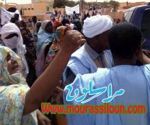 أما مقر الولاية..يهتفون طلبا للماء