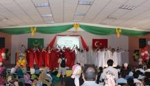 جانب من أنشطة الاحتفال بذكرى المولد النبوي، دأبت مدارس برج العلم على تنظيمه.