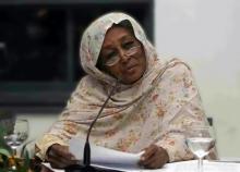 أول امرأة دخلت البرلمان في الشرق الأوسط، فاطمة أحمد إبراهيم