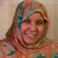 النانه لبات رشيد ـ شاعرة صحراوية و ناشطة في جبهة لبوليساريو