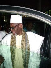 الشيخ التيجاني ولد الشيخ ابراهيم انياس ـ يؤدي أول زيارة له لموريتانيا منذ تعيينه خليفة للطريقة التيجانية الإبراهيمية