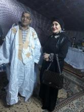 رجل الأعمال الشاش ولد دي رفقة الشيخة نوال حمود الصباح