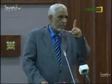 وزير العدل المستقيل إبراهيم ولد داداه