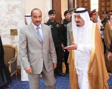 زار الرئيس الموريتاني محمد ولد عبد العزيز السعودية عدة مرات خلال السنوات الماضية
