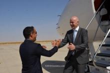 رئيس الفيفيا أثناء زيارة سابقة لنواكشوط